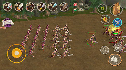 Trojan War: Rise of the legendary Sparta  screenshots 3