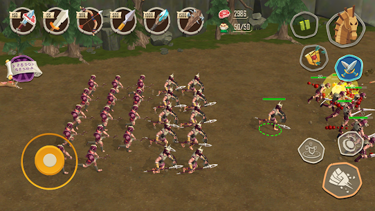 Trojan War: Rise of the legendary Sparta Mod Apk (Unlimited Money) 1