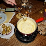 Cheese Fondue at Pfistern Restaurant in Lucerne, Lucerne, Switzerland