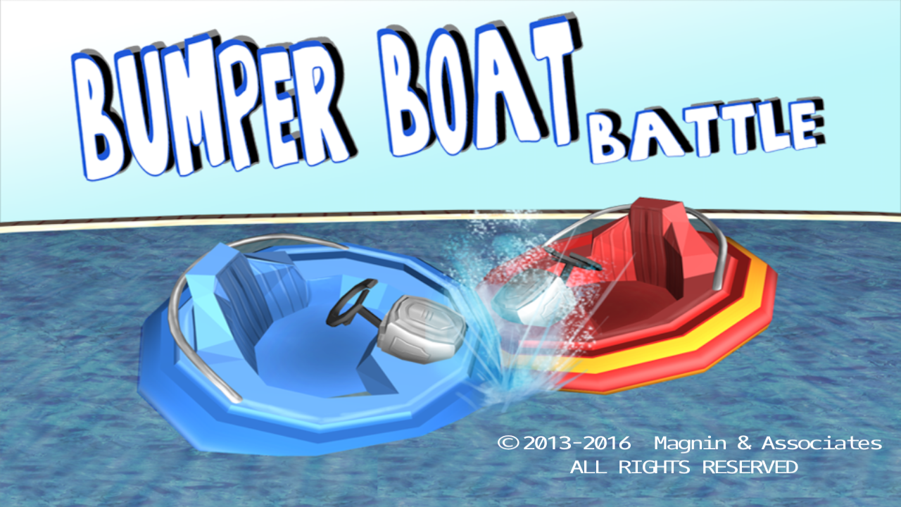 Bumper Boat Battle- screenshot