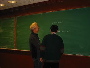 Photo: Richard Nowakowski and Takenobu Takizawa.