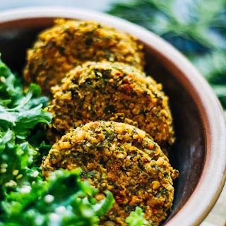 Winter Kale Falafel.
