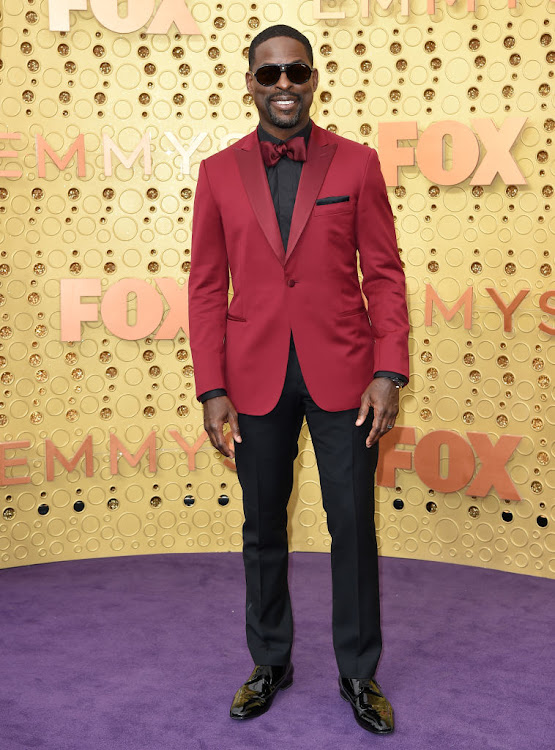 Sterling K Brown at the 2019 Emmy Awards.