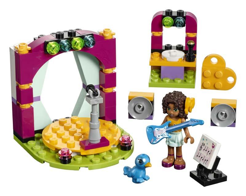 Contenido de Lego® 41309 Dueto Musical de Andrea