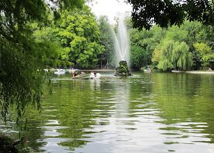 Photo: Park Cismigiu Bukarestin keskustassa