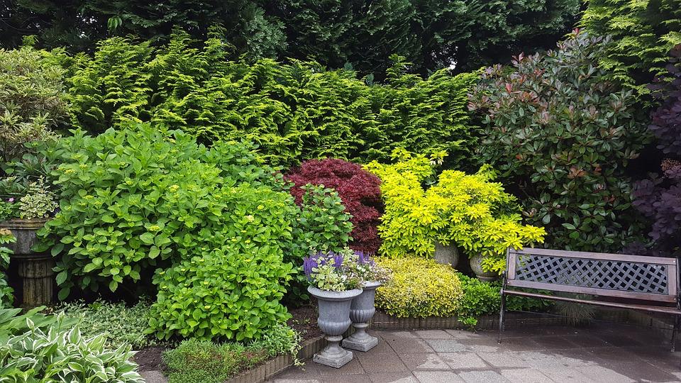 Un jardin, lieu sympa pour une Baby Shower