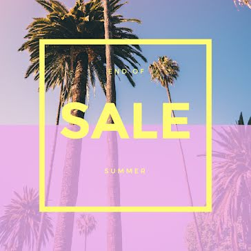 End of Summer Sale - Instagram Post Template