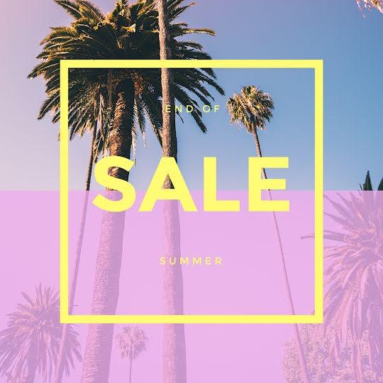 End of Summer Sale - Instagram Post Template