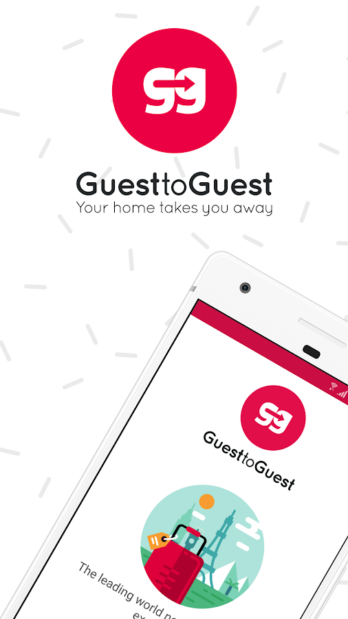 GuestToGuest - Home exchange- screenshot