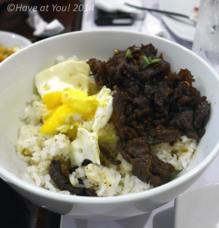 Beef Tapa Rice bowl