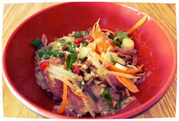 Lemongrass Pork Noodle Bowl