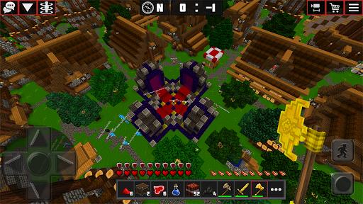 Multicraft: Block Craft Mini World 3D apkdebit screenshots 19