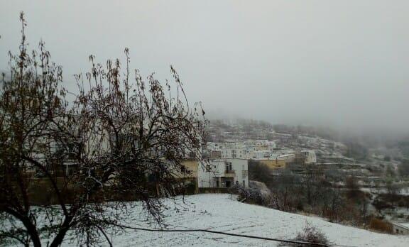 Así de bonita ha amanecido Paterna del Río.