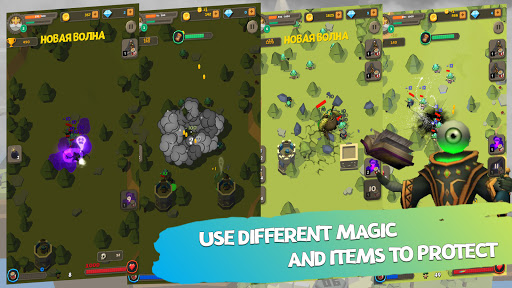 Defender: Tower Defense android2mod screenshots 4