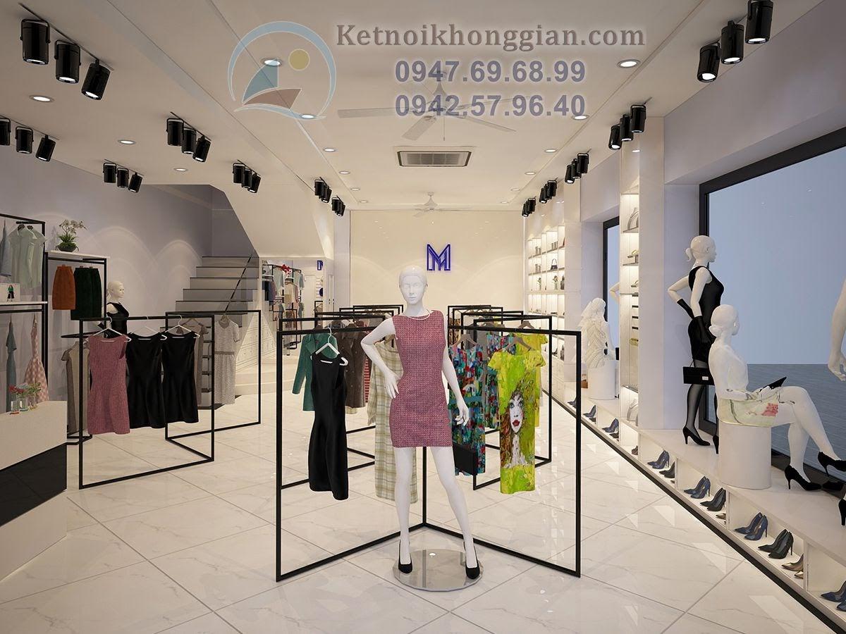 thiết kế shop quần áo thời trang cao cấp nữ