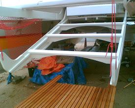 Photo: Center stern ramp