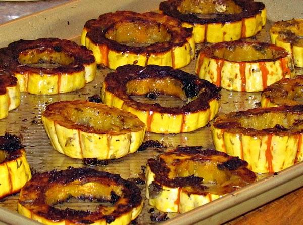 Savory Delicata Squash Rings Recipe