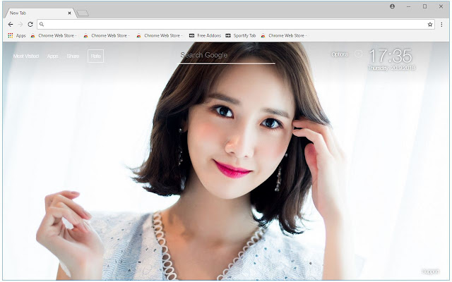 Kpop Snsd Wallpapers Hd New Tab Themes Free Addons