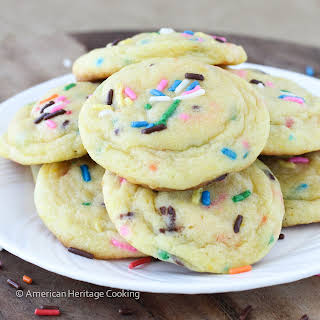 Lemon Pudding Cookies.