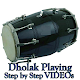Learn How to Play Dholak VIDEOs Dhol Playing App (app)