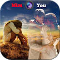 Miss you Photo Frames 2017 icon