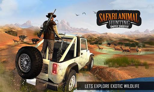 Télécharger Wild Animal Sniper Deer Hunting Games 2020 mod apk screenshots 3