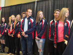Photo: Skaters at the Friends of Figure Skating breakfast