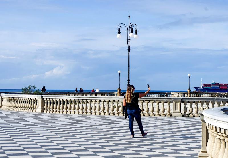 Selfie turistico... di Giuseppe Loviglio