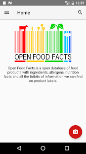 Open Food- screenshot thumbnail