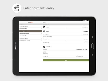 UBS Mobile Banking: e-banking for on the go- screenshot thumbnail