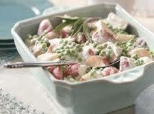 Creamed Peas And New Potatoes Recipe