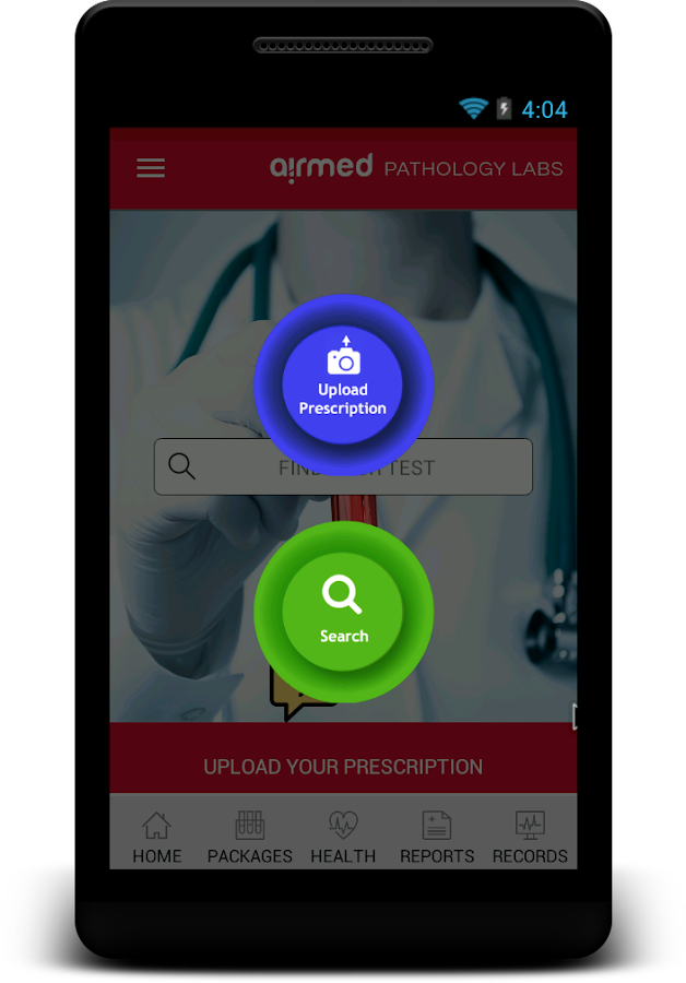 Airmed Labs- screenshot