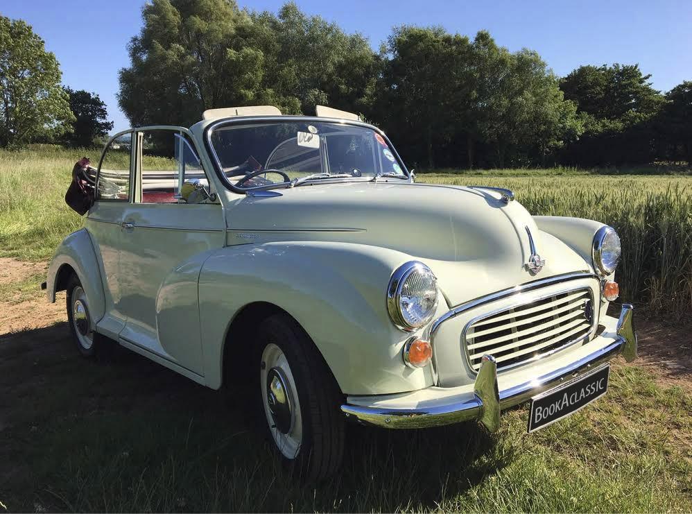 Morris Minor Convertible Hire Taunton