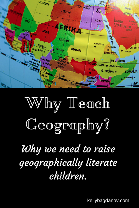 Great article on the reasons for geographical awareness