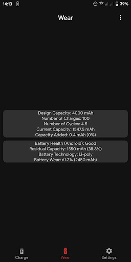 Capacity Info screenshot 6