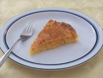 Tarta de Coco (Argentine Coconut Tart)