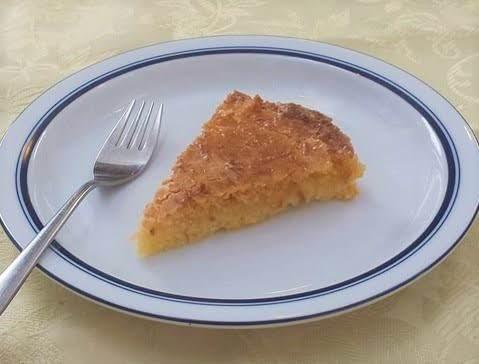 Tarta De Coco (argentine Coconut Tart) Recipe