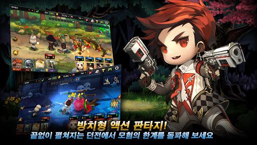 던전돌파 히어로즈 : 방치형 액션 RPG screenshot