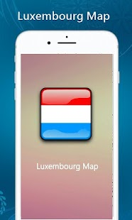 Luxembourg Map - náhled