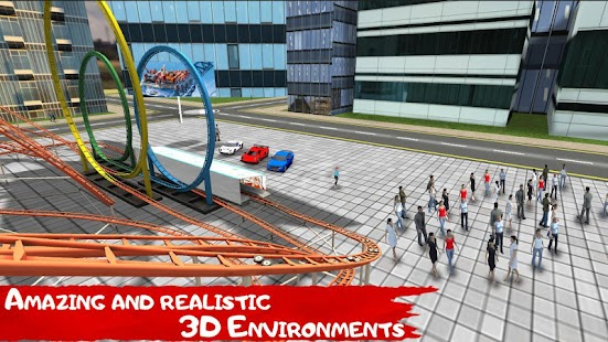 Roller Coaster VR Simulator- screenshot thumbnail