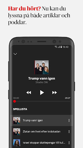 Dagens Nyheter 4.3.1 screenshots 3
