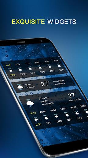 Local Weather Forecast & Visual Widget  screenshots 6