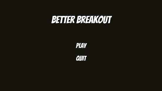 Better Breakout - náhled