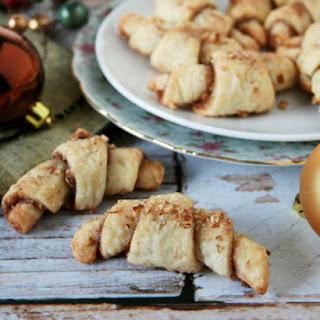 Cinnamon Pecan Rugalach Cookies
