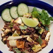 Tom Yum Toss (Thai 'fried rice' style)