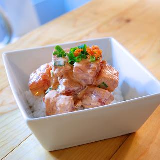 Spicy Ahi Poke.