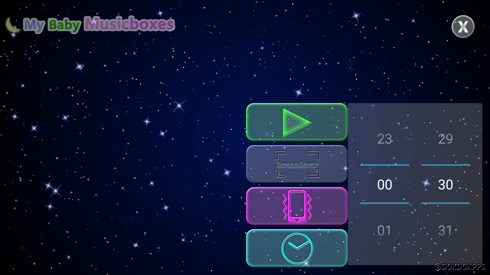 My baby Music Boxes (Lullaby) - screenshot