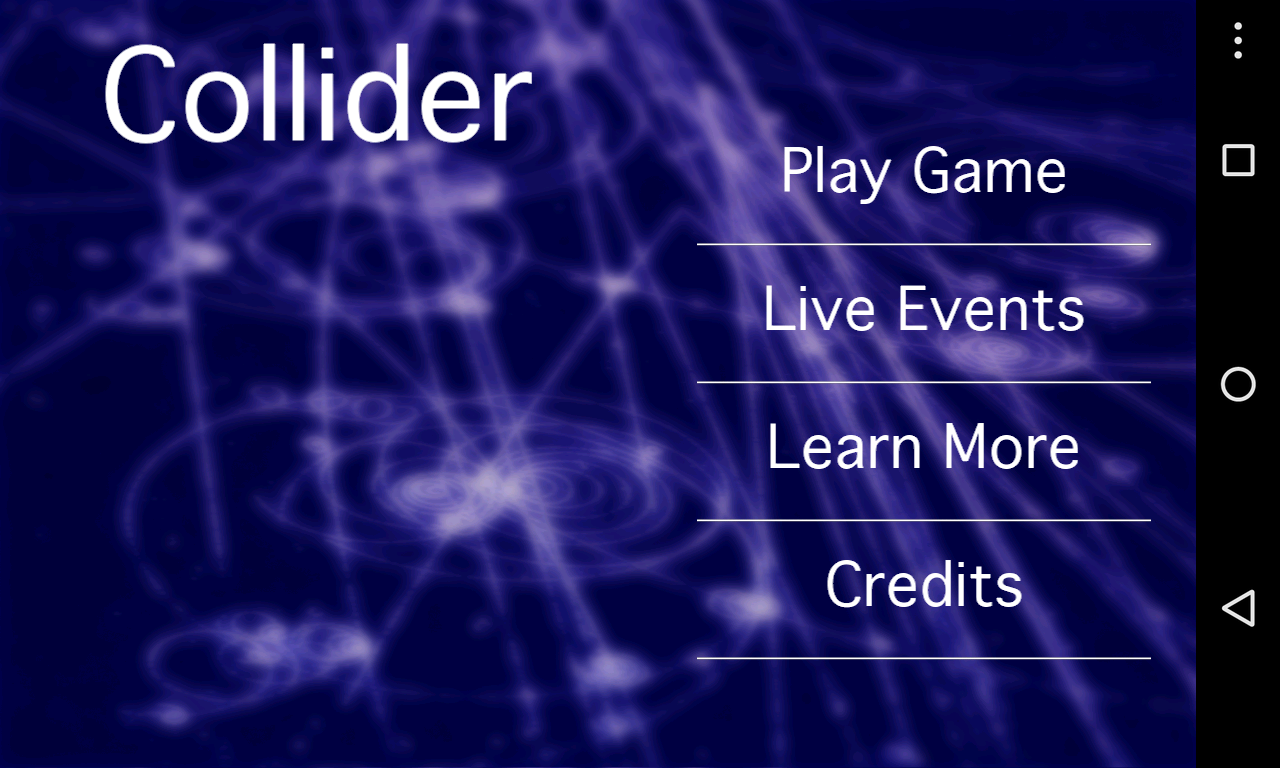 Collider- screenshot