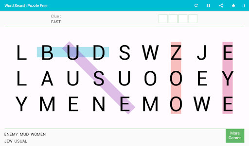 Word Search - Free Word Game 8.0 screenshots 9