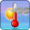 Mercury thermometer icon